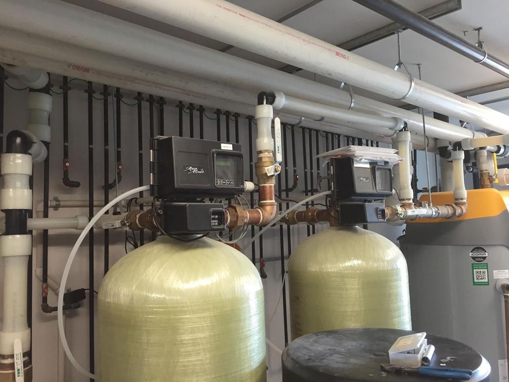 Master Plumbing Iron Filter Reverse Osmosis Water